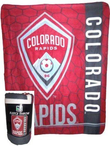 cc6745a707f MLS Colorado Rapids Super Soft Fleece Blanket 50