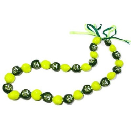 led nklhwilei color asp assorted flashing unit ofj lei panda string necklace hawaiian lot item