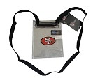 NFL SF 49ers Clear Stadium Gameday Pouch