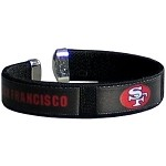Siskiyou NFL San Francisco 49ers Fan Band Bracelet