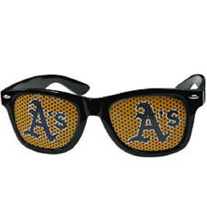 MLB Oakland Athletics Gameday Wayfarer Sun Glasses Team Logo Series Sunglasses