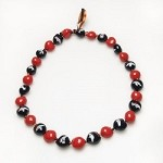 NFL Denver Broncos Kukui Nut Lei Necklace