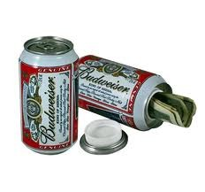 Budweiser Covert Stash Safe Can