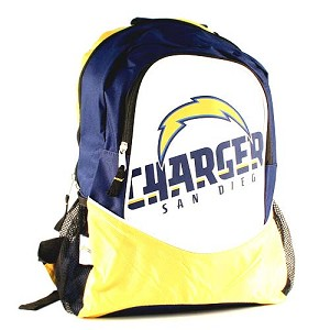 NFL San Diego Chargers Hype Style Backpack
