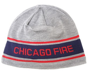 MLS Chicago Fire Gray Knit Hat / Beanie