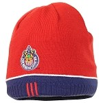 MLS Club Deportivo Chivas USA Red Knit Hat / Beanie - Reversible