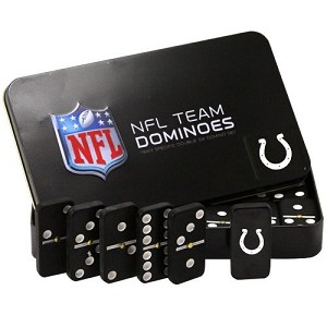 NFL Indianapolis Colts Double Six Dominoes