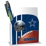 NFL Dallas Cowboys Notepad and Pen set