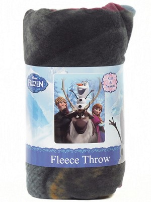 "Disney Frozen 46"" x 60"" Super Soft Fleece Throw"