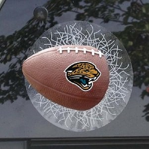 NFL Jacksonville Jaguars Sportz Splatz Football Window Decal