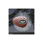 NFL New York Jets Sportz Splatz Football Window Decal