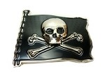 Pirate - Jolly Roger Belt Buckle