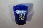 Funny Shot Glasses  - Reasons I Drink:  Bills, Work, You
