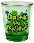 Funny Shot Glasses  - Drunk in Training