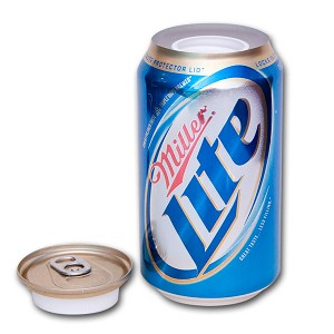Miller Lite Covert Stash Safe Can