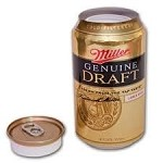 Miller Genuine Draft Covert Stash Safe Can