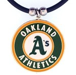 Siskiyou MLB Oakland A's Pendant Necklace