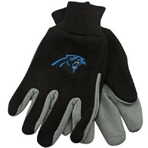 NFL Carolina Panthers Work Gloves