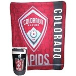 MLS Colorado Rapids Super Soft Fleece Blanket 50