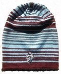 MLS Colorado Rapids Multi Striped Knit Hat / Beanie