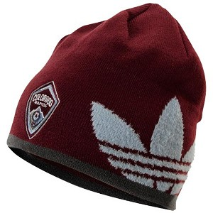 MLS Colorado Rapids Trefoil Knit Hat / Beanie