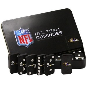 NFL Baltimore Ravens Double Six Dominoes