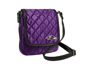 "NFL Baltimore Ravens Purple Crossover Purse ""Littlearth Productions"""