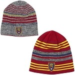 MLS Real Salt Lake adidas Red / Grey Authentic Team Reversible Knit Beanie