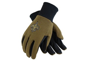 NFL New Orleans Saints Work Gloves