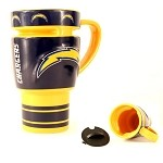 NFL SD Chargers 15oz Sculpted Travel Mug