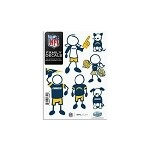 NFL San Diego Chargers  Family Window Decals