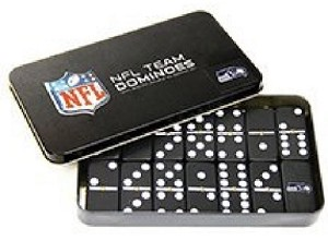 NFL Seattle Seahawks Double Six Dominoes