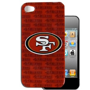 NFL SF 49ers iPhone 4 & 4S Cell Phone Case