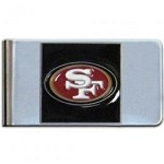 NFL SF 49ers Money Clip