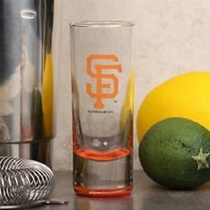 MLB SF Giants 2oz Tall Cordial Shooter Shot Glass