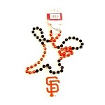 MLB San Francisco Giants Mardi Gras Beads with Medallion