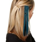 NHL San Jose Sharks Team Hair Clip / Hair Extensions
