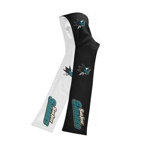 NHL SJ Sharks MVF Two Tone Reversible Hooded Scarf