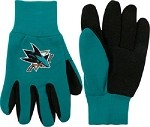 NHL San Jose Sharks Work Gloves