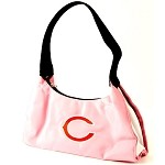 NFL Chicago Bears Pink Hobo Handbag / Purse