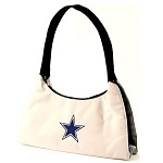 NFL Dallas Cowboys Gray Hobo Handbag / Purse