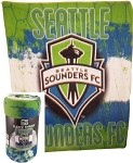 MLS Seattle Sounders Super Soft Fleece Blanket 50