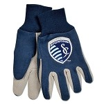 MLS Sporting KC Work Gloves