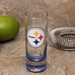 NFL Pittsburgh Steelers 2oz Tall Cordial Shooter Shot Glass
