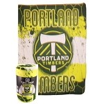 MLS Portland Timbers Super Soft Fleece Blanket 50