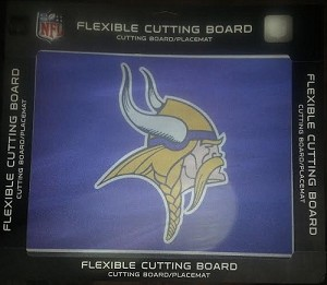 NFL Minnesota Vikings Flexible Cutting Board