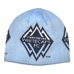 MLS Vancouver Whitecaps FC Powder Blue Knit Hat / Beanie