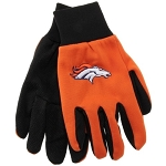 NFL Denver Broncos Work Gloves - Orange
