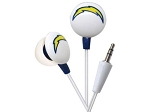 NFL SD Chargers iHip Noise Isolating Earphones