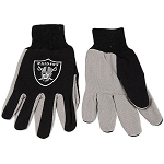 NFL Oakland Raiders Work Gloves